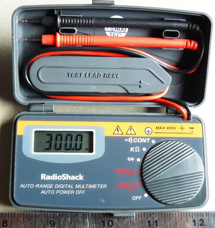 Radio Shack Multimeter : Technical equipment reviews