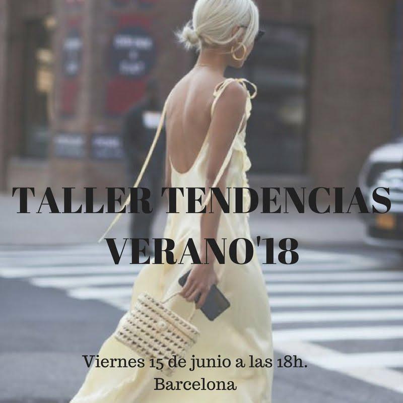 TALLER DE ASESORÍA DE IMAGEN ESPECIAL TENDENCIAS