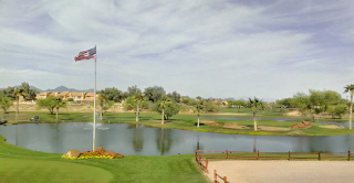 scottsdale silverado golf club - view from the clubhouse