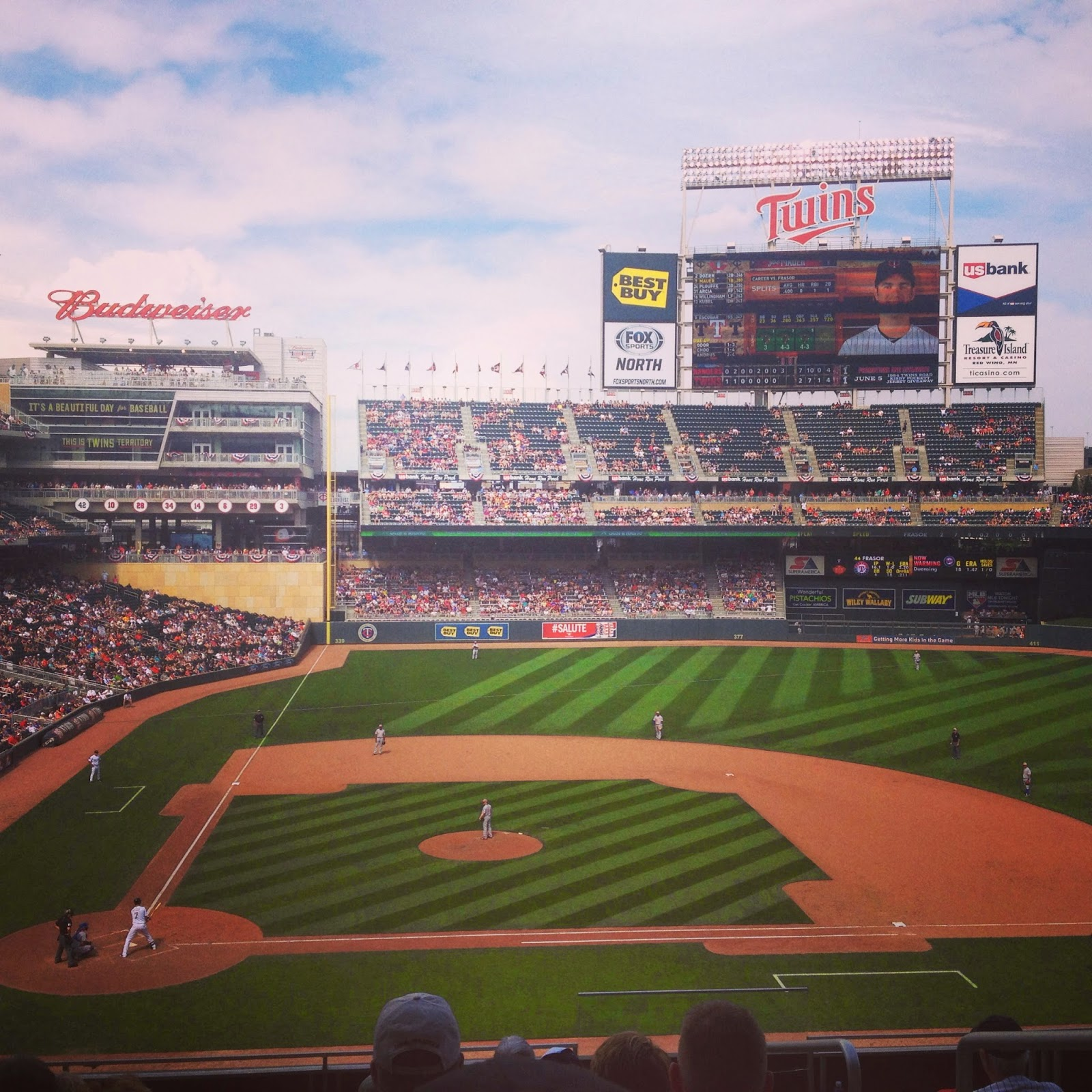 Memorial Day Twins baseball game