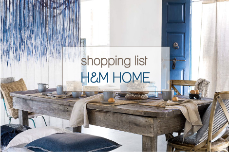 Shopping list per la casa al mare blog di arredamento e for Shopping online casa e arredamento