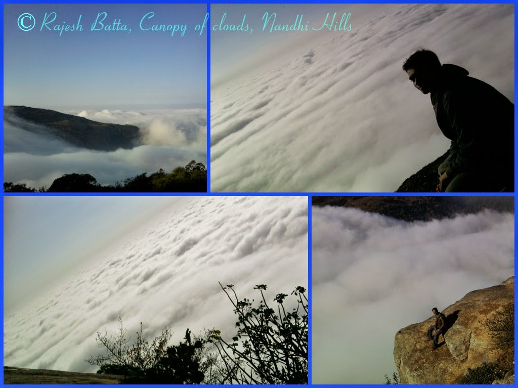 Nature lover's paradise - canopy of clouds in Nandi Hills