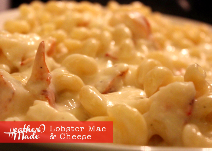 Heather O Made Lobster Mac Amp Cheese