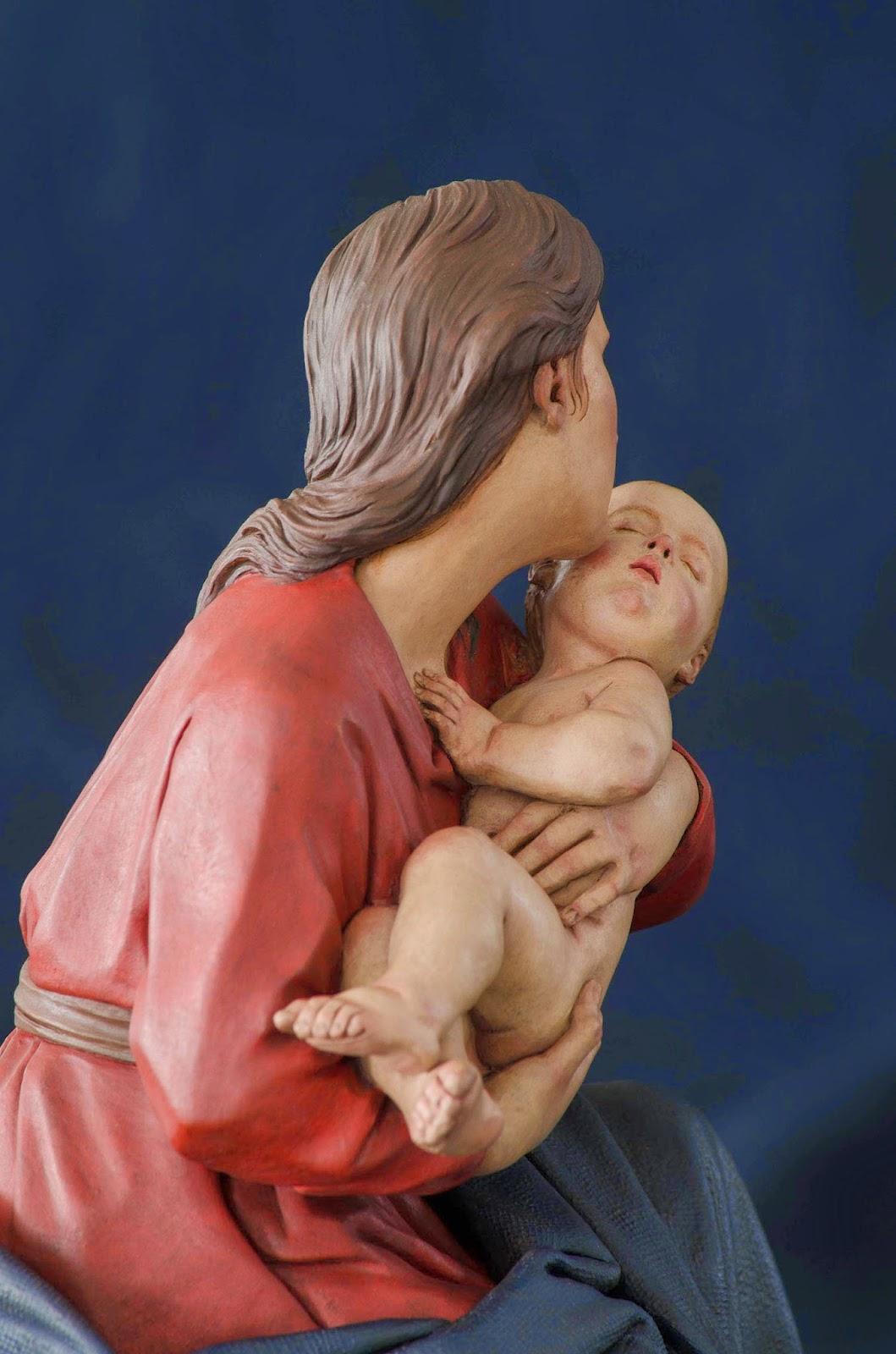 Nacimiento Belén Nativity presepe krippe Arturo Serra Barro cocido 31