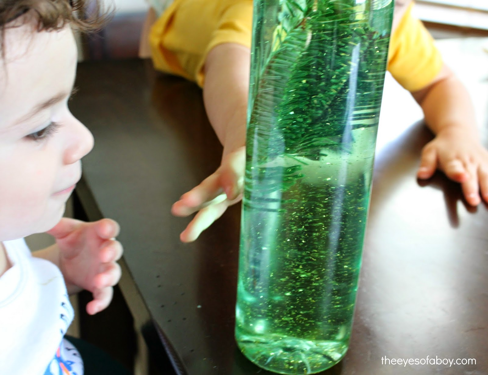 easy diy tree sensory bottles for kids