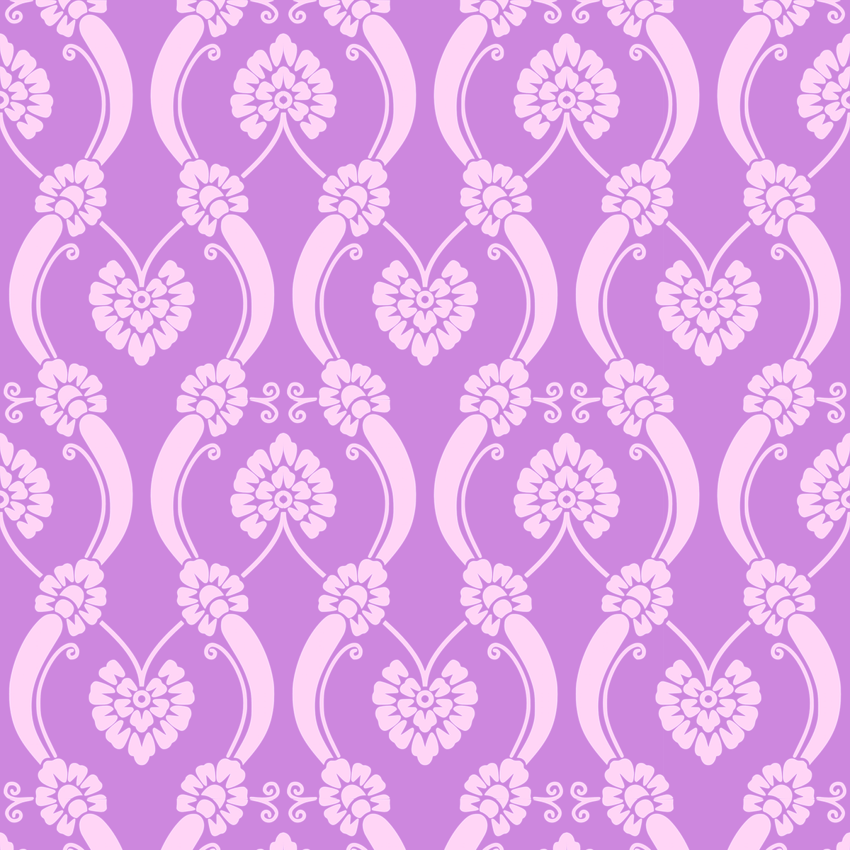 Free Digital Lilac Ornament Scrapbooking Paper