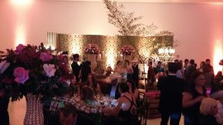 casamento tematico marrom e rosa