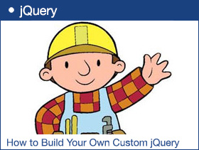 How to Build Your Own Custom jQuery