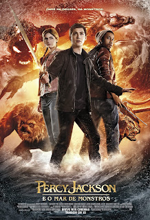 Pôster Percy Jackson e o Mar de Monstros