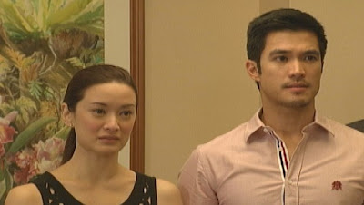 Maricar Reyes and Diether Ocampo as Mr. and Mrs. Joel Villanueva in MMK