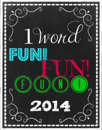 2014 One Word