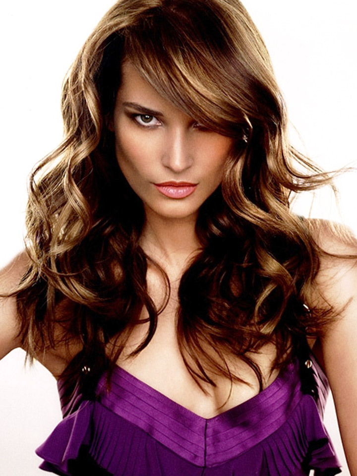 Long Curly Hairstyles with Bangs The Best Pictures Collection About Hairstyles and Fashion