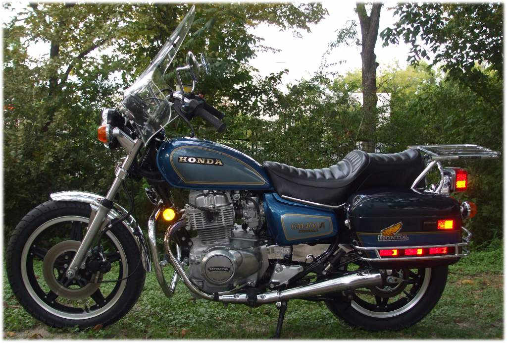 Honda Cm400a Motorcycle Complete Wiring Diagram