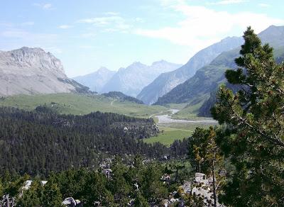Gemmi Pass landscape