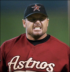 Roger Clemens baseball pitcher Houston Astros