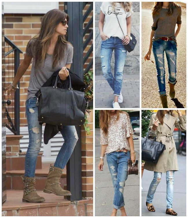 DIY: ripped jeans