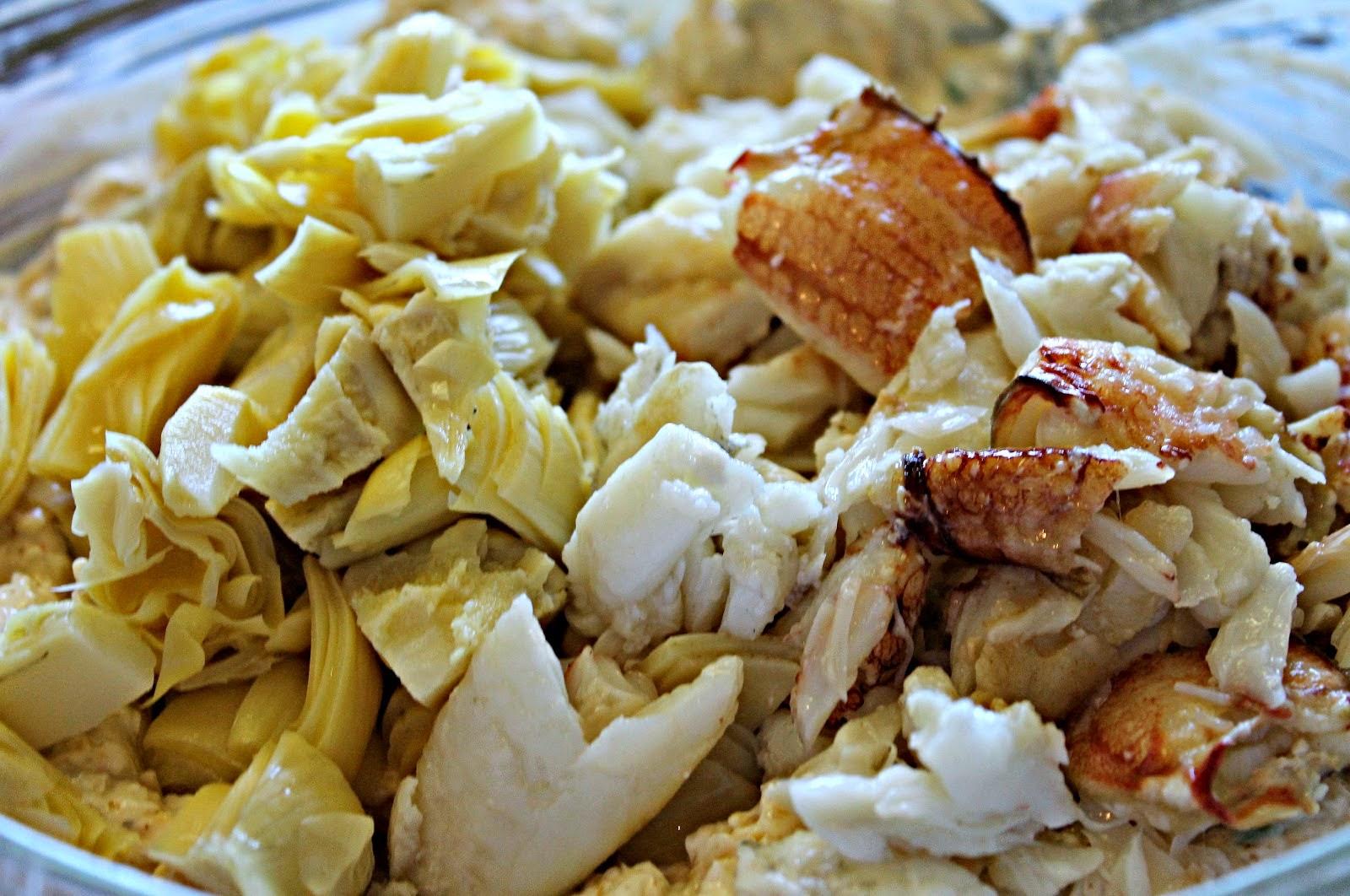 Chesapeake Bay Crab & Artichoke Salad