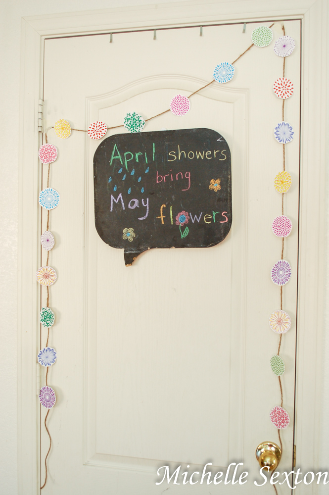 Get this Free Spring Flower Printable Banner from SoHeresMyLife.com