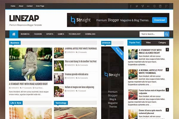 linezap-free-blogger-templates