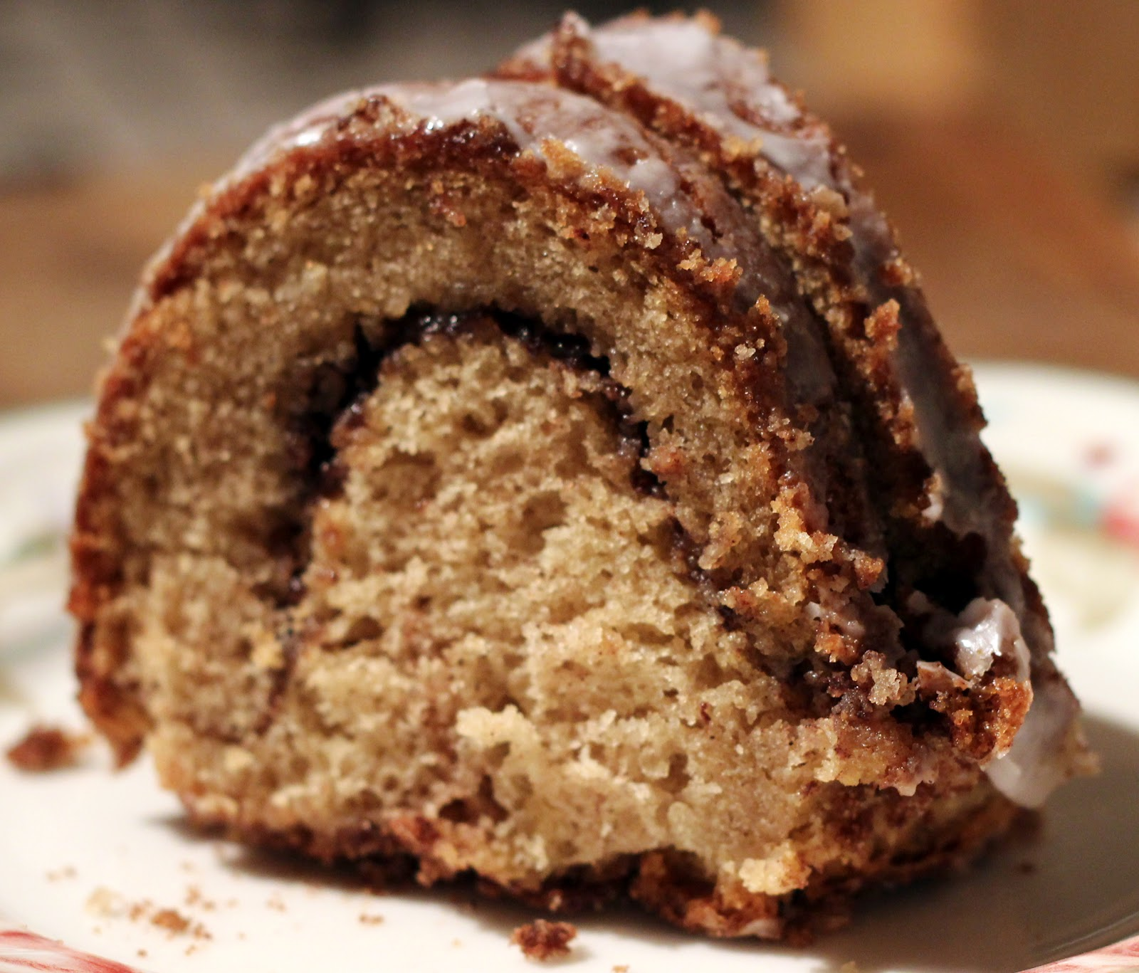 The Dinner Club: Cinnamon Swirl Bundt Cake