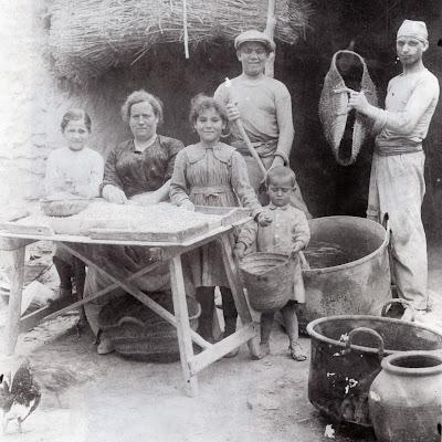 preparacion del porrat. foto