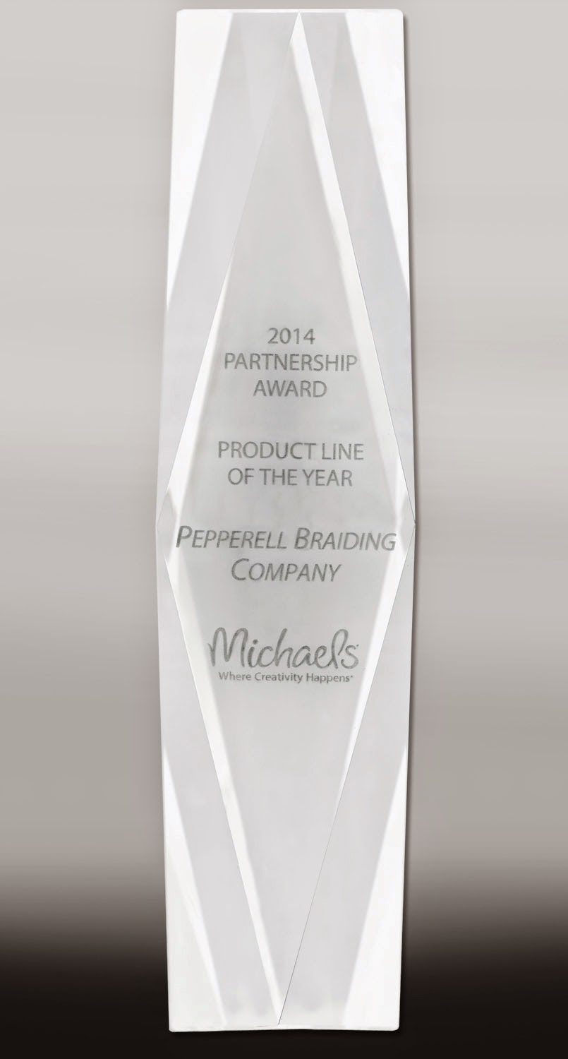 Product Line of the Year Award from Michaels Stores, Inc.