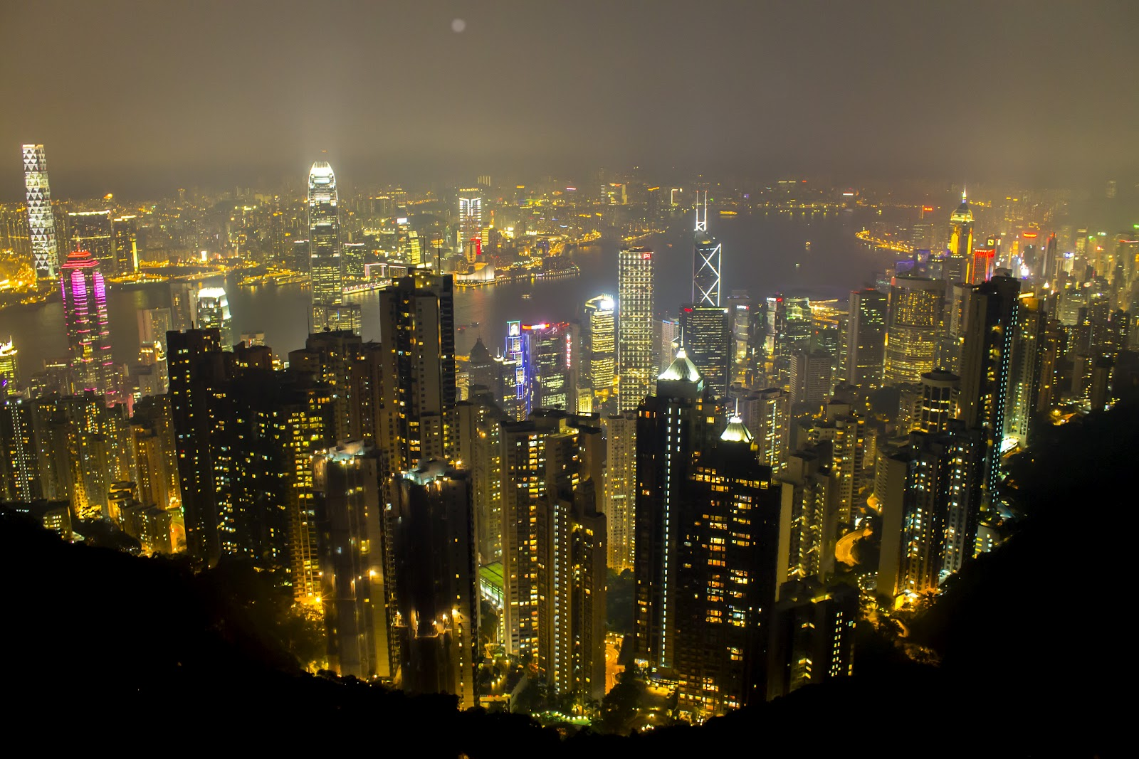 The Peak in Hong Kong