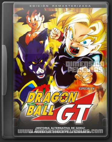 Dragon Ball GT: 100 Años después (BRRip 720p Español Latino)