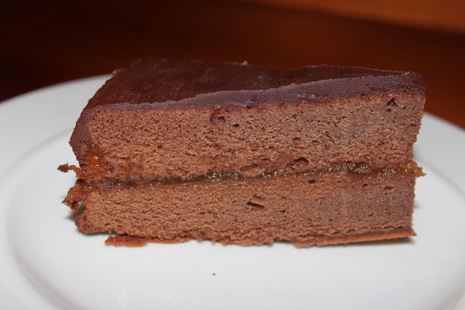 pastel de chocolate Lindt
