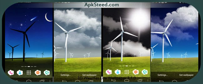 Weather Live Wallpaper 3.2 Apk File Download