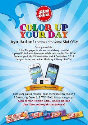 Info Kontes - Kontes Foto Slai Olai Color Up Your Day