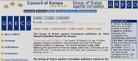 Grupul de state impotriva coruptiei