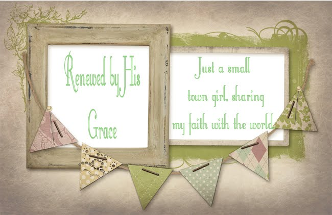 Renewed by His Grace