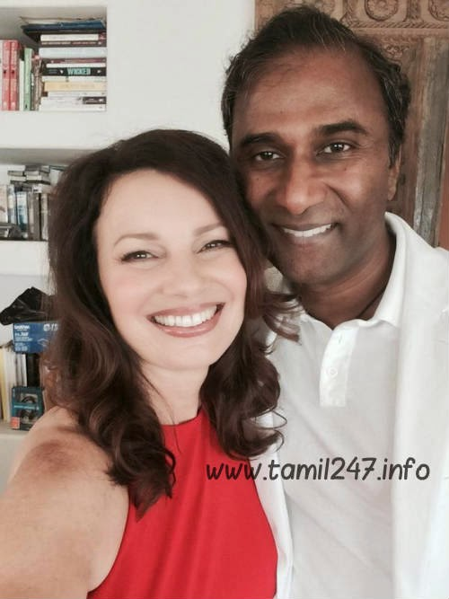 Dr Shiva Ayyadurai weds actress Fran Dresche, email inventor married actress tamil news