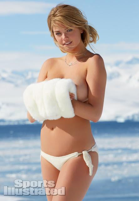 Kate Upton in Antarctica indianudesi.com