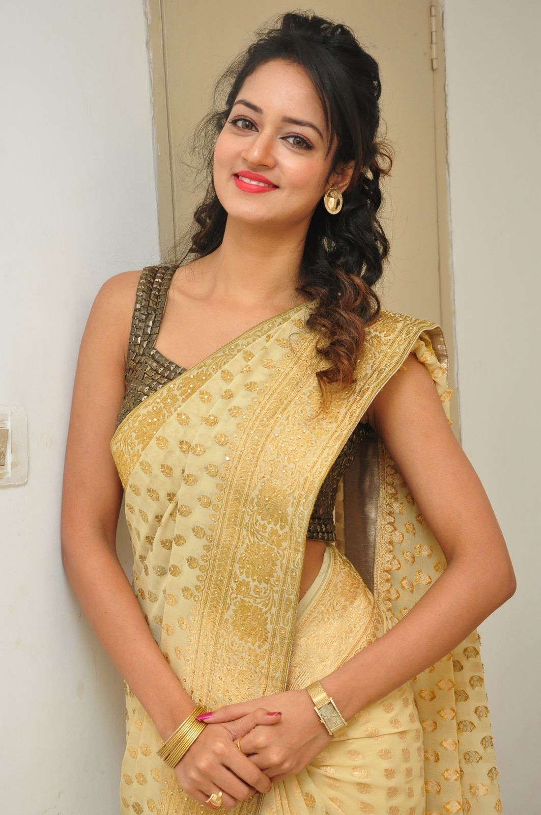 Actress Shanvi Photos at Harinath Wedding Reception
