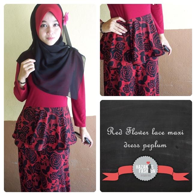 Baju Kurung Peplum Dari Blog Hazanis Part-4