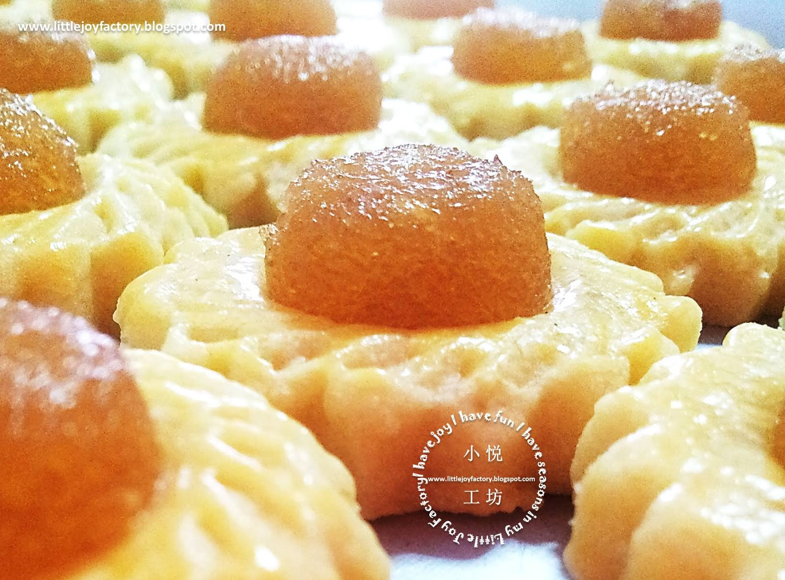 ... Goodies Box: Pineapple Tarts (open-version) 新年礼盒:凤梨酥