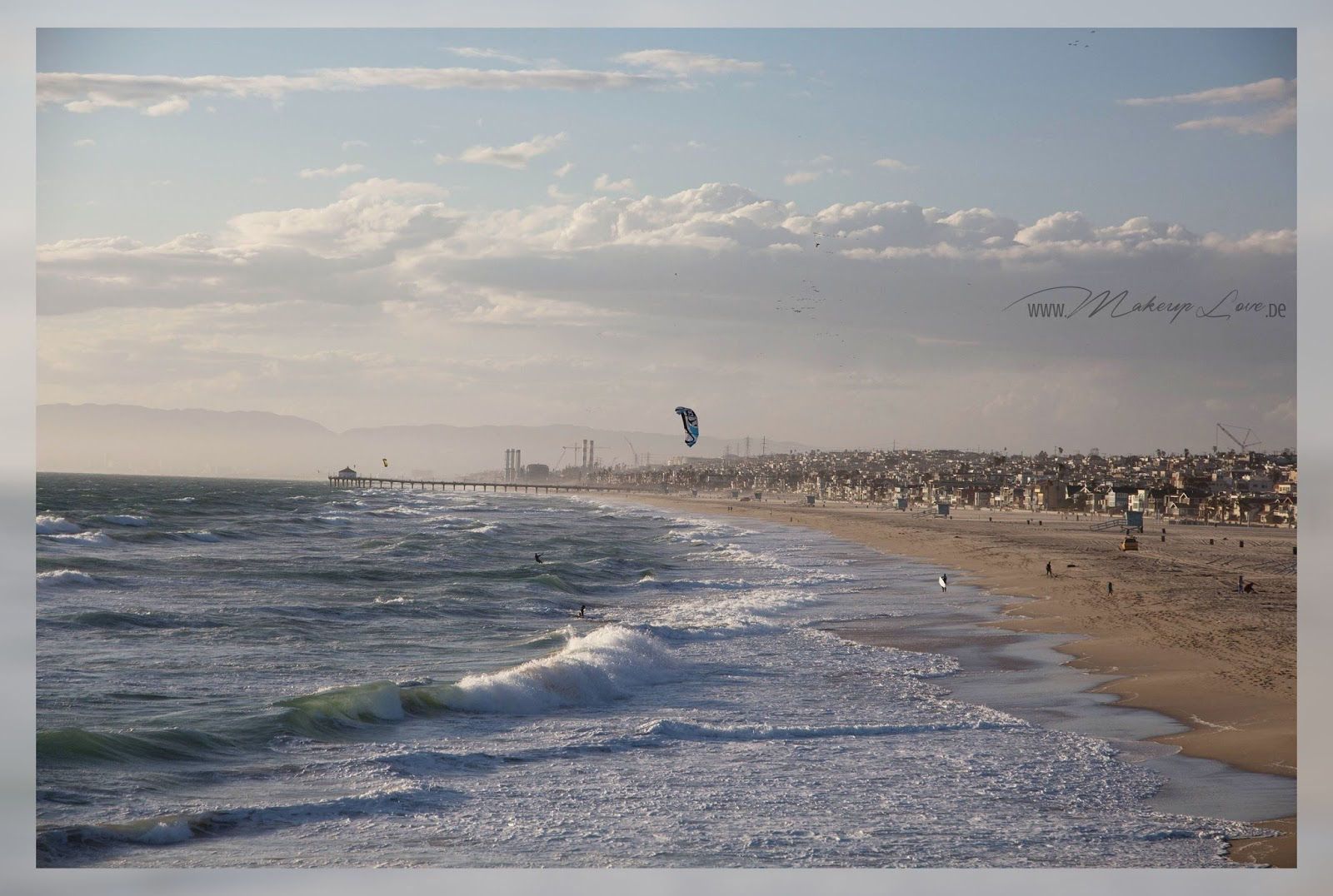 Los Angeles Küste Coast Strand Manhattan Beach