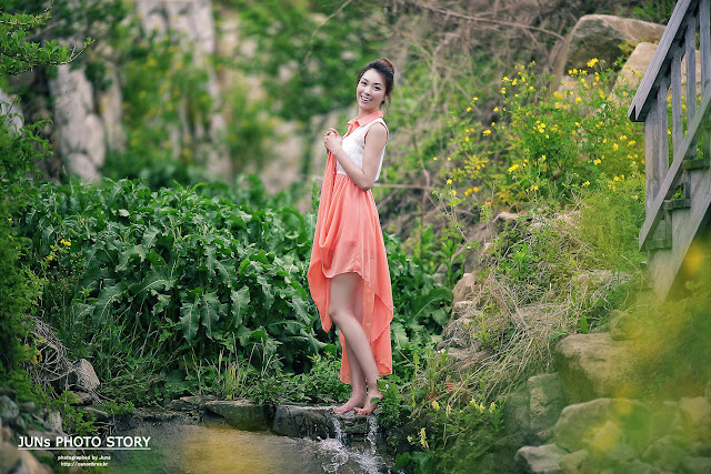 Angel Ju Da Ha - Outdoor Photoshoot