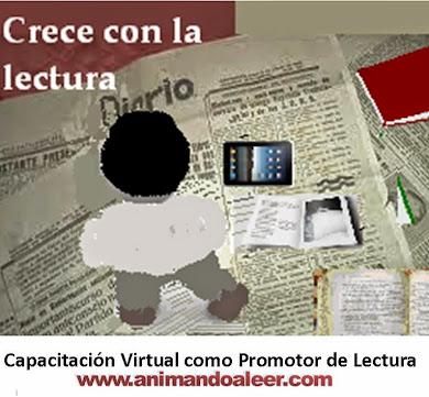Capacitación Virtual como Promotor de Lectura