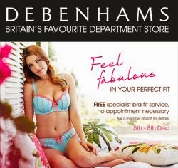 Debenhams Bra Fit Service