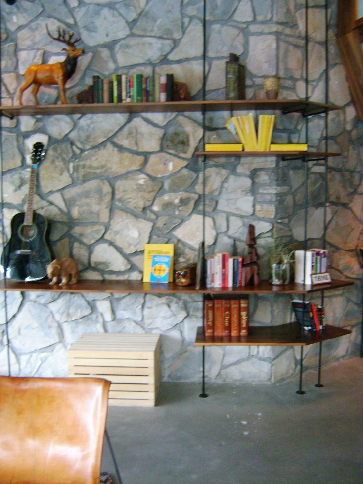 industrial style shelving units, I came across a style of industrial ...