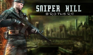 Screenshots of the Sniper kill: Brothers for Android tablet, phone.