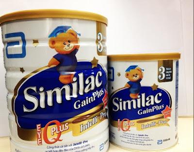 Sữa similac gainplus