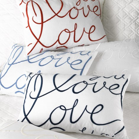 Want to Win One of MATOUK'S Luxurious Love Pillows? Starting now through April 18th, follow this pin and enter for a chance to win a Matouk Logotype Pillow. Enter for a chance to win it and PIN IT for even more chances to win!