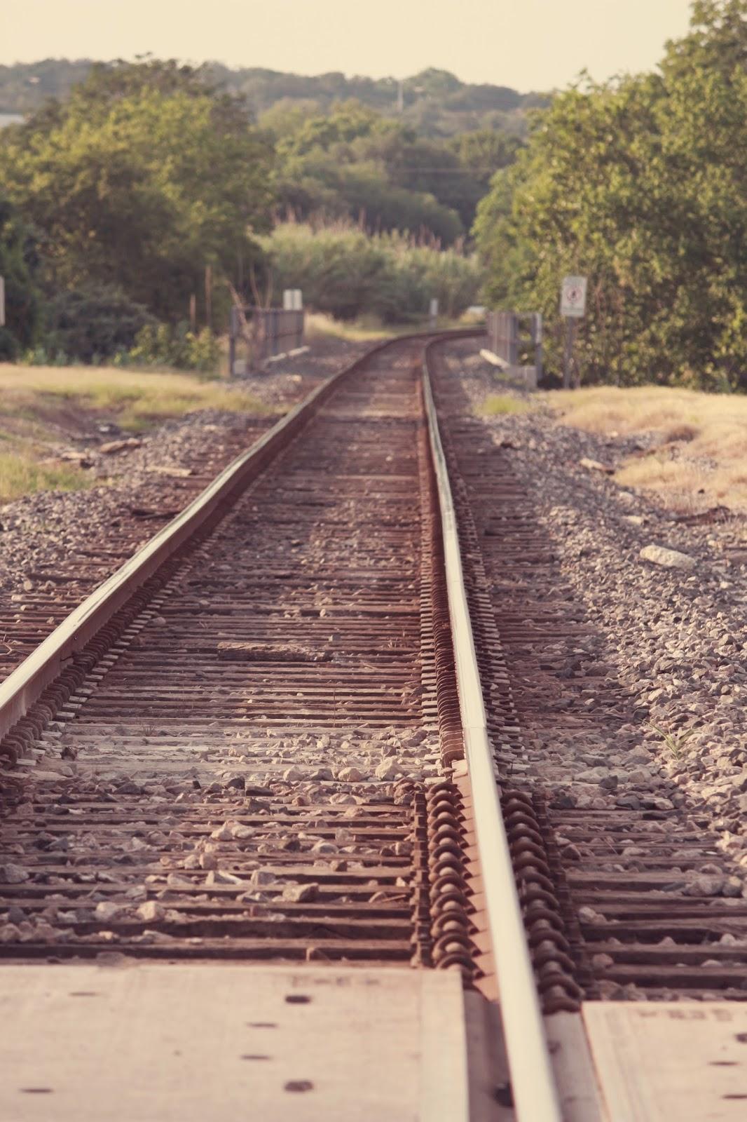 train track headed somewhere