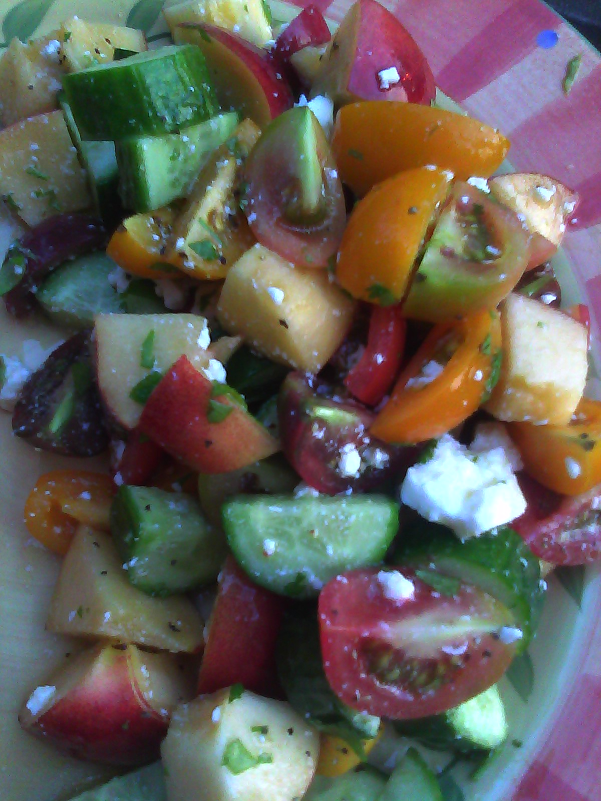heat wave salad i wanted to put watermelon in this salad but my ...