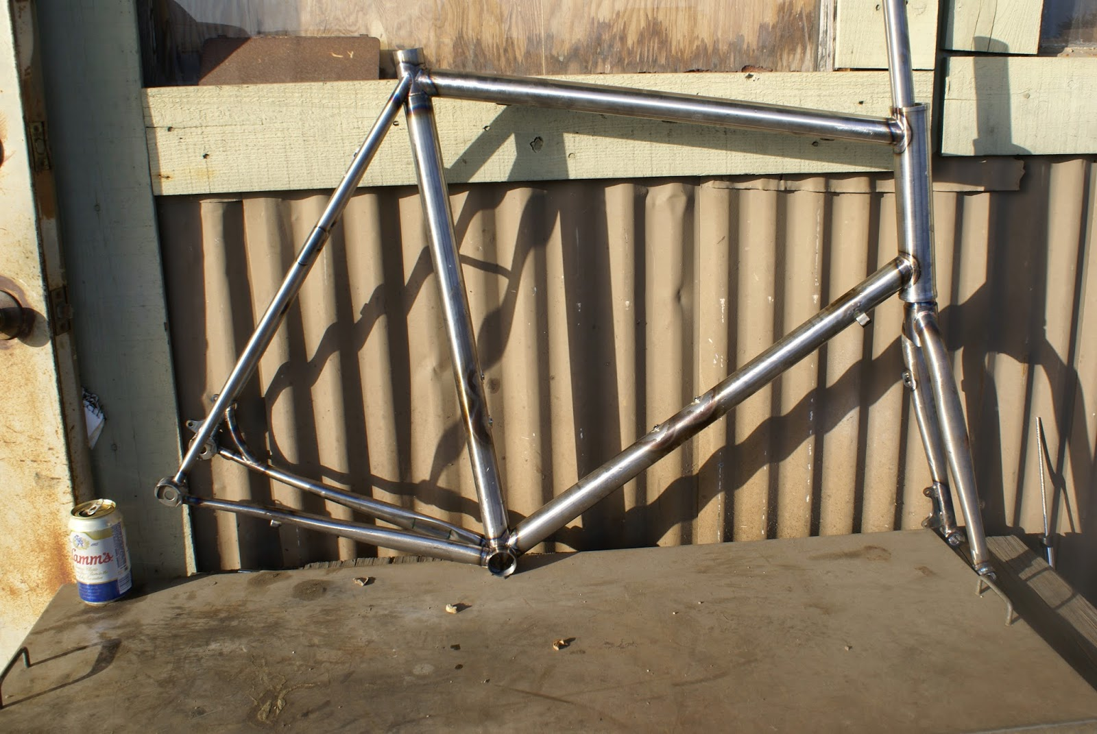 what\'s up in Santa Cruz: Tall disc brake through axle road frame for ...