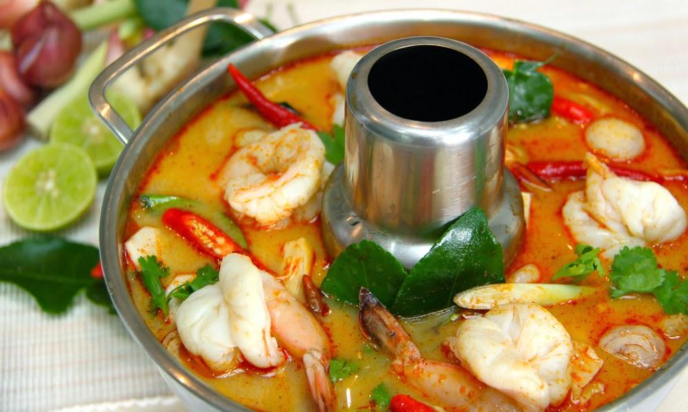 قائمة بأفضل عشرة أطباق تايلندية